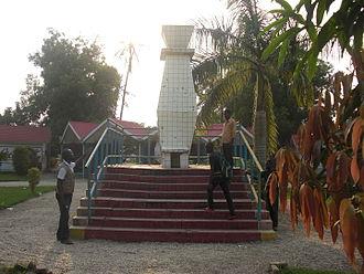 Léopoldville riots - The Place du 4 Janvier in Kisangani is one of the Congo's public spaces which take their name from the Léopoldville riots