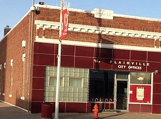 Plainville, Kansas - Plainville City Offices (2016)