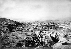 Beach ridge - Miocene beach ridges, San Diego County, California, 1905.