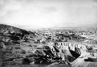 Beach ridge - Miocene beach ridges, San Diego County, California, 1905.