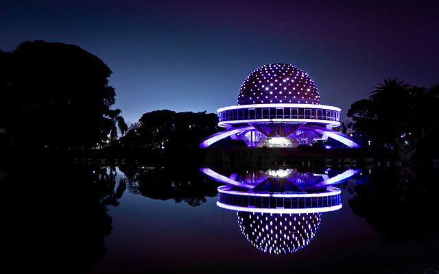 3rd place: Galileo Galilei planetarium, by Emmanuel Iarussi