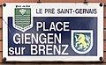 Plaque Place Giengen Brenz - Le Pré-Saint-Gervais (FR93) - 2021-04-28 - 1.jpg