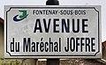 Plaque avenue Maréchal Joffre Fontenay Bois 2.jpg
