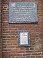 Plaque commémorative juin 1940, Abbeville, Somme, France.JPG