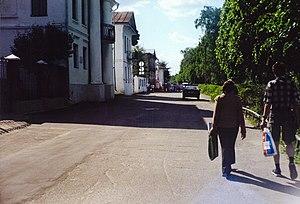 Набережная в городе Плёс (2005)