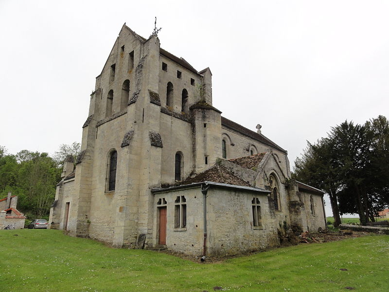 Ployart-et-Vaurseine (Aisne) église de Ployart