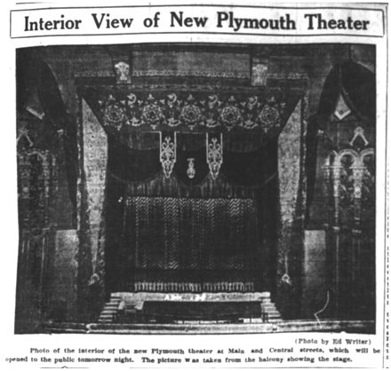 b093640a7dc0 Plymouth Theatre (see also Original Seating)