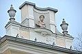 Poertschach Johannaweg 1 Villa Venezia Dachgesims Bueste 17122014 352.jpg