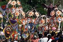 La celebrazione Pohela Baishakh a Dacca