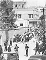 Police and the demonstrators - 21 July 1952.jpg