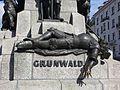 PomnikGrunwaldzki-PostaćUlrichaVonJungingena-POL, Kraków.jpg