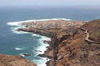 Ponta do Sol, Cape Verde Settlement in Santo Antão, Cape Verde