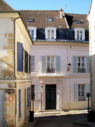Édouard-Alfred Martel - Birthplace of Édouard-Alfred Martel, 1 rue de la forêt Hardelot, Pontoise.