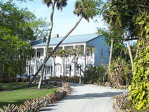 National Register of Historic Places listings in Martin County, Florida - Image: Port Mayaca FL Cypress Lodge 01