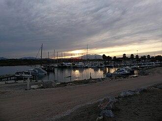 Sainte-Marie-la-Mer - The harbour of Sainte-Marie
