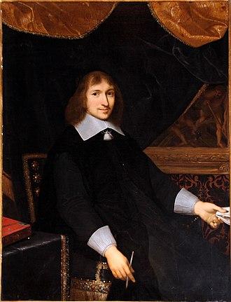 Nicolas Fouquet - Portrait by Charles Le Brun