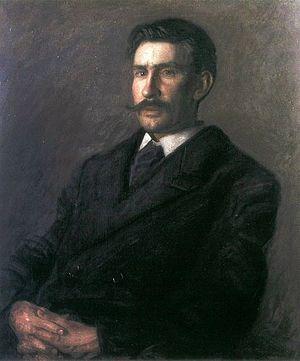 Edward Willis Redfield - Portrait of Edward W. Redfield by Thomas Eakins