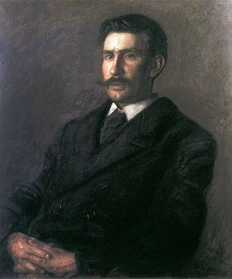 Edward Willis Redfield - Portrait of Edward W. Redfield by Thomas Eakins