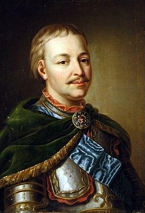 Ivan Mazepa Hetman of Ukrainian Cossacks
