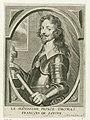 Portret van Tommaso Francesco van Savoye Theatrum pontificum, imperatorum, regum, ducum (..) (serietitel), RP-P-1909-4510.jpg