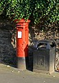 Post here, bin there - geograph.org.uk - 1437345.jpg