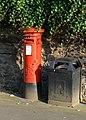 Post here, bin there - geograph.org.uk - 1437345.jpg