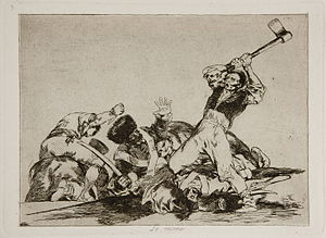 The Disasters of War - Image: Prado Los Desastres de la Guerra No. 03 Lo mismo