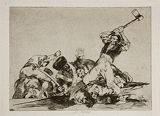 The Disasters of War - Image: Prado Los Desastres de la Guerra No. 03 Lo mismo