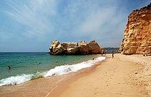 Praia da Rocha, The Algarve, Portugal