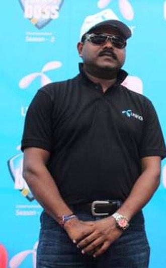 Pravin Amre - Pravin Amre at Box Cricket Finale, Box Ka Boss