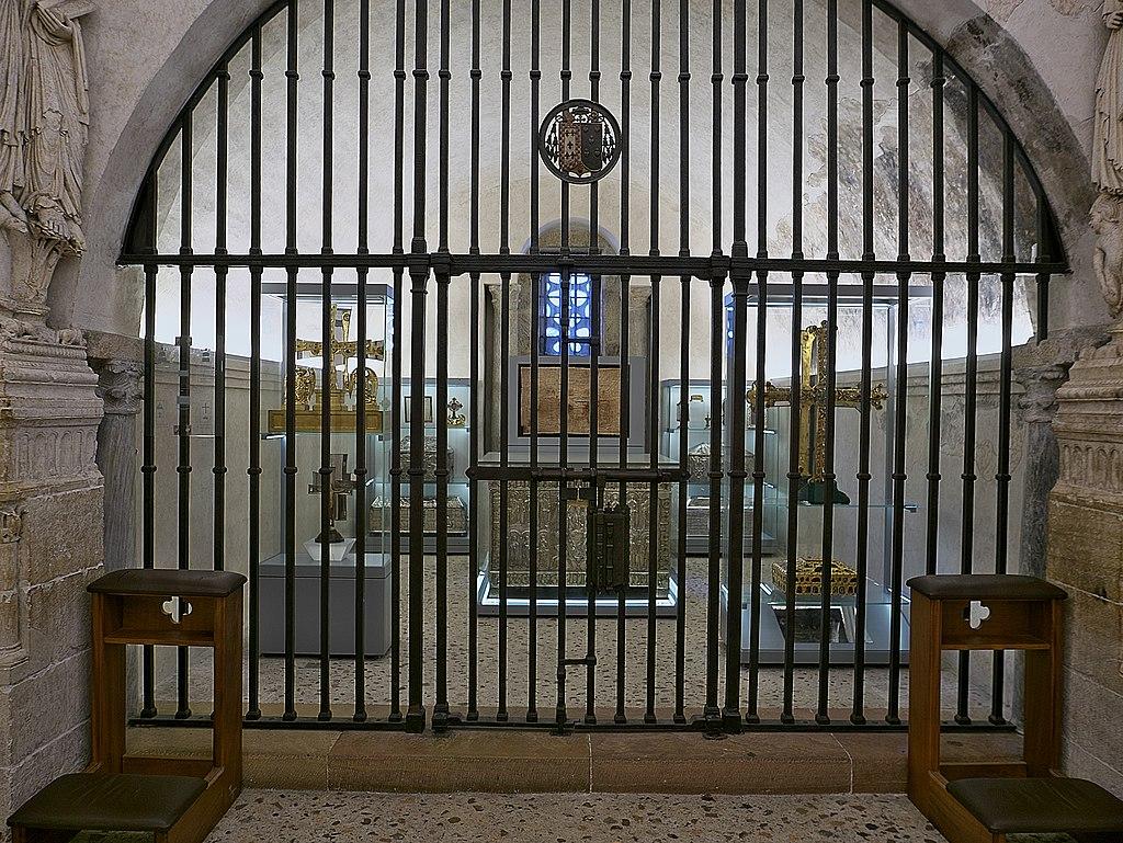 Presbiterio de la Capilla de San Miguel (Catedral de Oviedo)