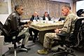 President Barack Obama receives a briefing from Gen. Joseph F. Dunford, Jr.jpg