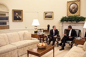 President Obama and President Uribe