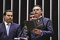 Presidente da República, Jair Bolsonaro, lê compromisso constitucional.jpg