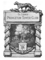 Princeton University Tower Club bookplate.png