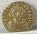 Principato di benevento, emissione aurea di arichis II, zecca di benevento, 774-787.JPG