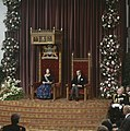Prinsjesdag Koningin Beatrix leest Troonrede (rechts Prins Claus ), Bestanddeelnr 253-8793.jpg