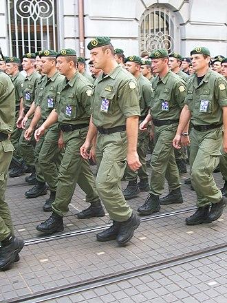 Law enforcement in Croatia - Special Police members