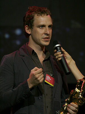 "Prix Ars Electronica - Chris Lavis with the Golden Nica for ""Madame Tutli-Putli"" (2008)"