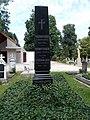 Prochnow grave obelisk, 2020 Nagykovácsi.jpg