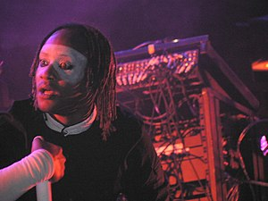 The Prodigy - Maxim performing at the 2006 Sziget Festival
