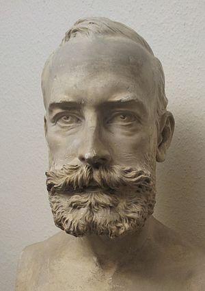 Hans Hübner - Bust of Hans Hübner