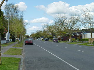 Pukete Suburb in New Zealand