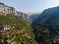 Qadisha Valley, Aerial View From Qannoubine Monastery.jpg