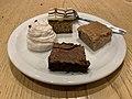 Quatre desserts végétariens, restaurant Soline, JDLL 2019.jpg