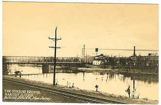 South Bound Brook, New Jersey - Queen's Bridge, South Bound Brook
