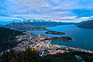 Queenstown, New Zealand - Queenstown from Bob's Peak