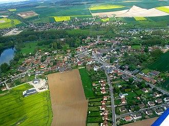 Querrieu - An aerial view of Querrieu