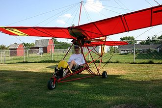 Ultralight aircraft (United States) - Eipper Quicksilver