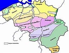 belgique geographie